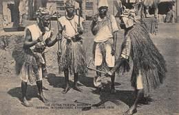 CPA The Fetish Pirests, Dahomey Village. Imperial International Exhibition, London 1909 - Dahomey