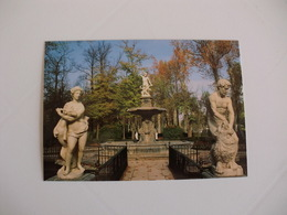 Postcard Postal Spain Madrid Aranjuez Jardin De La Isla La Fuente De Hércules - Madrid