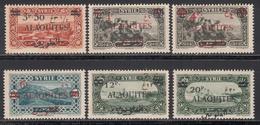 1926-28  Yvert Nº 35 / 40  /**/ - Alaouites (1923-1930)