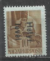 Hungary 1946. Scott #806 (M) Count Andrew Hadik * - Hongrie