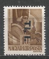 Hungary 1946. Scott #810 (M) Count Andrew Hadik * - Hongrie