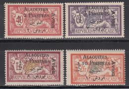 1926-28  Aéreo, Yvert Nº 1 / 4  /**/ - Alaouites (1923-1930)