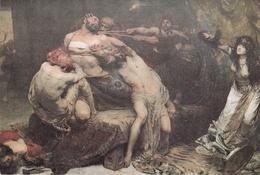 J S Solomon Samson Postcard Unused Good Condition - Paintings