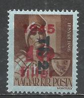 Hungary 1946. Scott #811 (M) Jànos Hunyadi * - Hongrie