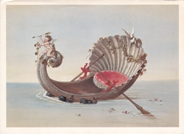 Franz Seitz Shell Boat In The Venus Grotto Schloss Linderhof Postcard Unused Good Condition - Malerei & Gemälde