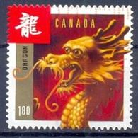 CANADA 2012 Year Of The Dragon MI 2776 SC 2497 YT 2656 SG 2829 - Gebraucht