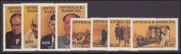 Antigua 1984 Famous People Unmounted Mint. - Antigua And Barbuda (1981-...)