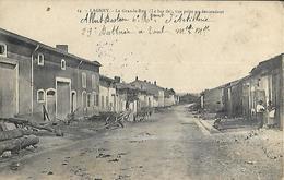 54  Lagney   ( 501 Habitants )      La Grande Rue  ( Le Bas De ) Vue Prise En Descendant     CPA 1914 - France