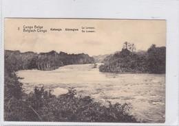 CONGO BELGE. KATANGA KISENGWA. LE LOMAMI. CIRCULEE A BELGIQUE AN 1913 - BLEUP - Entiers Postaux