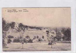 CONGO BELGE.BOMA. PLATEAU. CIRCULEE A BELGIQUE AN 1913 - BLEUP - Entiers Postaux