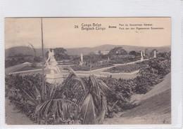 CONGO BELGE. BOMA. PARC DU GOUVERNEUR GENERAL. CIRCULEE A BELGIQUE AN 1912 - BLEUP - Entiers Postaux