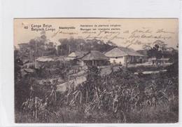 CONGO BELGE. HABITATIONS DE PLANIEURS INDIGENES. CIRCULEE A BELGIQUE AN 1913 - BLEUP - Entiers Postaux