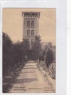 CONGO BELGE. ELISABETHVILLE. OBSERVATOIRE. CIRCULEE A BELGIQUE AN 1913 TIMBRE ARRACHE - BLEUP - Entiers Postaux