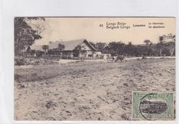CONGO BELGE. LUSAMBO. LE LABOURAGE. CIRCULEE A BELGIQUE AN 1920 - BLEUP - Entiers Postaux