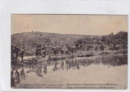 EST AFRICAIN ALLEMAND. UNE COLONNE D'AMBULANCE DANS LA MUGESSERA. WATERLOW & SONS. OBLITERE 1918 - BLEUP - Entiers Postaux