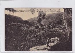 EST AFRICAIN ALLEMAND. EN CARAVANE VERS TABORA. WATERLOW & SONS. OBLITERE 1918 - BLEUP - Entiers Postaux