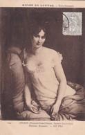 MUSEE DU LOUVRE. ECOLE FRANÇOISE. GERARD. MADAME RECAMIER. ND PHOT. OBLITERE 1908 LILLE - BLEUP - Paintings