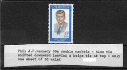 Philippines 1965, JFK, John F. Kennedy RARE Tie ERROR # 927,XF MNH**OG (NR-7) - Philippines