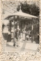 06. CPA. NICE.  Source Bornala-Nice, Buvette Populaire. 1903. - Straßenhandel Und Kleingewerbe