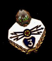 RARE  ORDRE - Specialist CLASSE 3 Telegraphist Militaire Radio MORSE (Pacte Varsovie) Roumanie / Romania - Radio