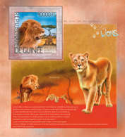 Guinea 2014 Fauna Lions - Guinea (1958-...)