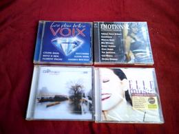 COLLECTION DE 4 CD ALBUM DE VARIOUS ARTISTES ° ELLE MUSIC + EMOTION2 DOUBLE CD + ST GERMAIN TOURIST + LES PLUS BELLES VO - Compilations
