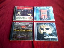 COLLECTION DE 4 CD ALBUM DE VARIOUS ARTISTES ° NEW FRONTIERS + THE SHOWS +AMOUR FOOT + LE GLOBO - Compilations