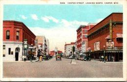 Wyoming Casper Center Street Looking North Curteich