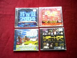 COLLECTION DE 4 CD ALBUM DE VARIOUS ARTISTES  ° RAGGA HIP HOP FURIOUS + HIP HOP FOLIES + R&B 2002 + 2004 - Rap & Hip Hop