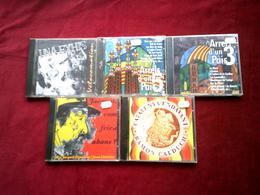 COLLECTION DE 5 CD ALBUM D'ARTISTES CATALAN ° JACQUOT + CATALUNYA ENDAVANT + UNA EXHIS + ARREL D'UN PAIS 3 + 4 - Musique & Instruments