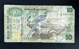SRI LANKA  10  RUPEES  1979 - Sri Lanka