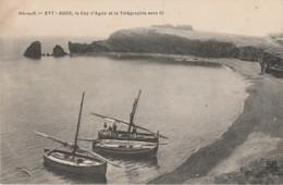 X17- 34)  AGDE (HERAULT) LE CAP D'AGDEET LA TELEGRAPHIE SANS FIL - (2 SCANS) - Agde