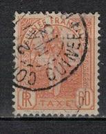 GUINEE       N°  YVERT  :     TAXE 6             OBLITERE       (    3/ 44 ) - Guinée Française (1892-1944)