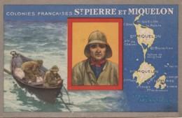 X29- ST PIERRE ET MIQUELON -  COLONIES FRANCAISES - EDITION DU LION NOIR - (2 SCANS) ( - Saint-Pierre-et-Miquelon