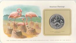BIRD COINS OF THE WORLD - BAHAMAS - TWO DOLLAR - 1979 - 2 AMERICAN FLAMINGO         -  TDA20A - Bahamas