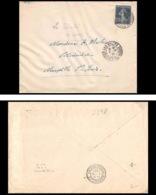 Lettre-2398 Bouches Du Rhone N°140 Semeuse Gc Les Milles Pour Marseille St Louis 2/6/1921 - Marcophilie (Lettres)