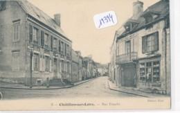 CPA -19394-45-Chatillon Sur Loire -Rue Franche  Envoi Gratuit - Chatillon Sur Loire