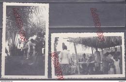 Au Plus Rapide Afrique Congo Environs Brazzaville 1935 Médecin En Tournée Sur Le Fleuve Microscope Beau Format - Africa