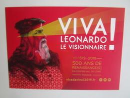 Viva Leonardo Da Vinci 2019: 500 Ans De Renaissance(s) En Centre - Val De Loire France. - Personnages Historiques