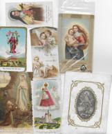 AK 0204  Konvolut Von Sieben Heiligenbildern ( Andachtsbilder ) - Andachtsbilder