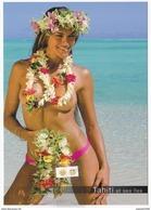 Polynésie Française - Vahine Et Fleurs De Tahiti / 303 - French Polynesia