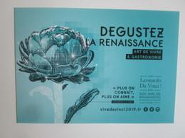 Viva Leonardo Da Vinci 2019: 500 Ans De Renaissance(s) En Centre - Val De Loire France. Degustez... - Expositions