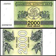 25 Pieces Georgia - 2000 Coupons 1994 UNC - Géorgie