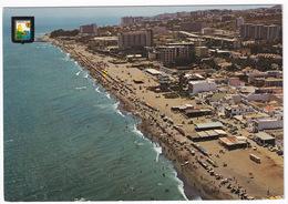 Torremolinos - Vista Aérea. Gran Playa De Montemar  - (Costa Del Sol, Espana) - Malaga
