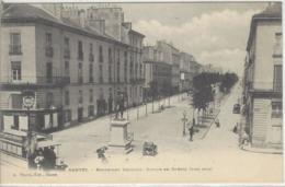 CPA Dept 44 NANTES Dos 1900 - Nantes