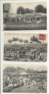 Vaucluse - Lot N° 1 De 3 Cpa Cavaillon, Thème Courses, Hippodrome,,  Animées ( Tous Frais + 1,40 ) - Cavaillon