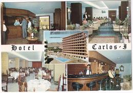Torremolinos - Hotel 'Carlos I' - Interior -  (Costa Del Sol,Espana) - Swimming-pool / Piscine - Malaga