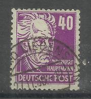 """Sowjetische Zone 223c """"40 Pfg.-Briefmarke Aus Köpfe I-Satz Hoher Qualität,gepr. Schönherr""""gestempelt Mi.:20,00 - Zone Soviétique"""