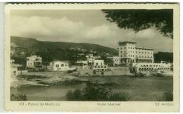 SPAIN - PALMA DE MALLORCA - HOTEL MARICEL - ED- ARRIBAS - RPPC POSTCARD 1950s (BG3113) - Palma De Mallorca