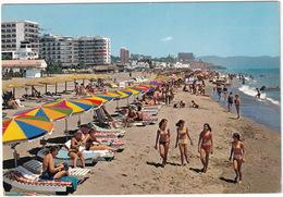 Torremolinos - Vista Parcial Playa De Montemar - (Costa Del Sol, Espana) - Malaga